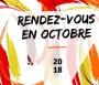 Les Rendez-vous d'octobre