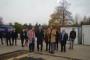 Visite du chantier du Pôle de santé par le Président de la Région Normandie