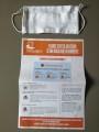 Distribution de masques lavables à la mairie