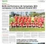 Exploit en coupe de France de l'équipe sénior du FSCN